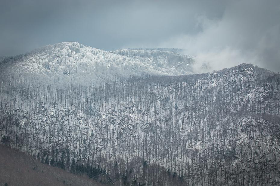 Ořešník (Jizerské hory) Krajobraz Nikon D7100 Nikkor AF-S 70-200 f/4.0G górzyste formy terenu Góra niebo zimowy śnieg pasmo górskie Chmura pustynia średniogórze grzbiet