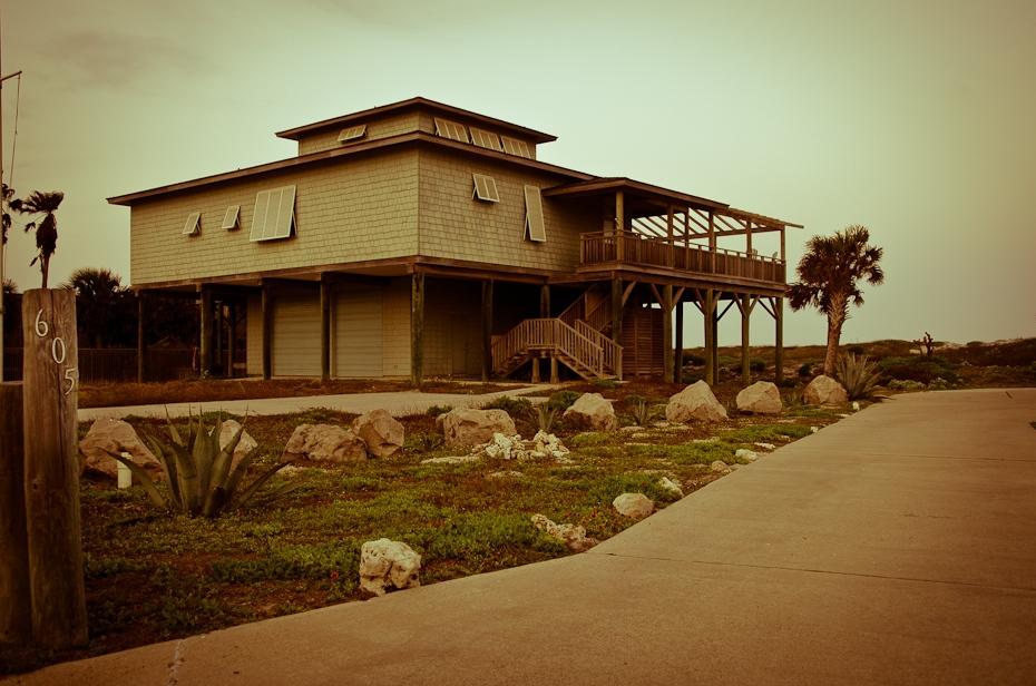 Port Aransas Polyesterday Nikon D7000 AF-S Nikkor 70-200mm f/2.8G Texas 0 Dom dom dzielnica nieruchomość drewno majątek okno budynek krajobraz niebo