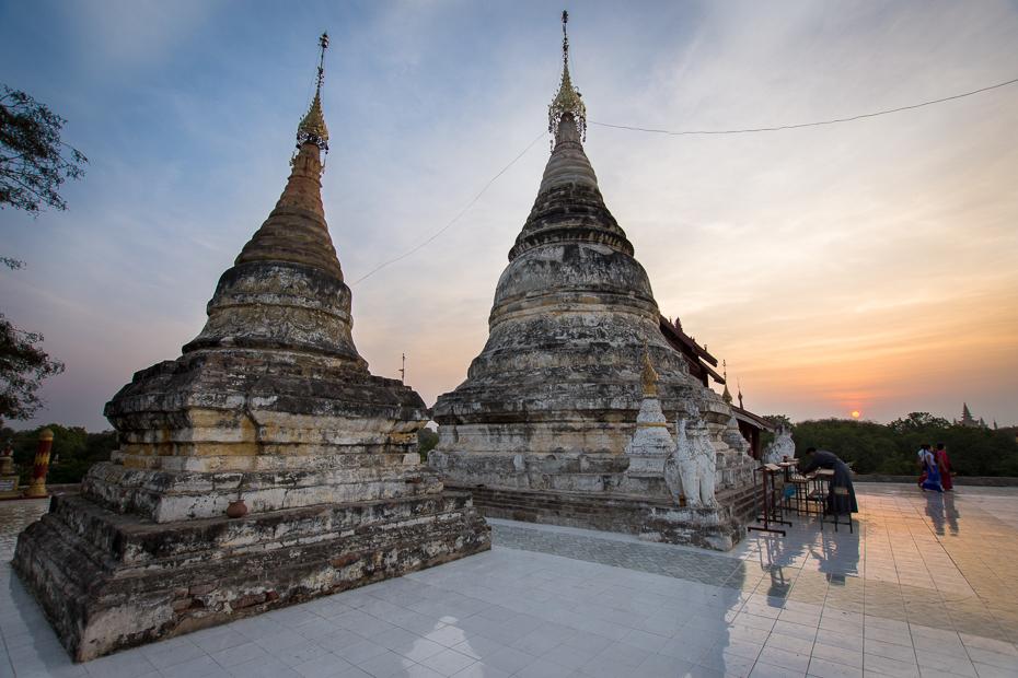 Bagan Miejsca Nikon D7200 Sigma 10-20mm f/3.5 HSM 0 Myanmar historyczna Strona świątynia niebo Strona archeologiczna Świątynia hinduska atrakcja turystyczna miejsce kultu Historia starożytna wat