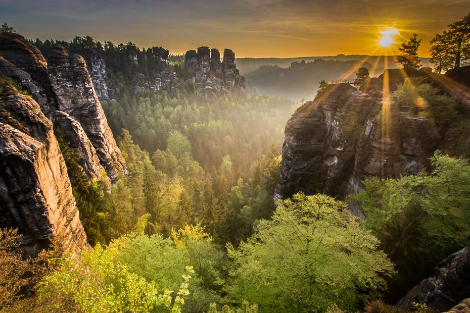 Saska Szwajcaria Krajobraz Nikon D7100 Sigma 10-20mm f/3.5 HSM Natura pustynia wegetacja rezerwat przyrody drzewo górzyste formy terenu roślina drzewiasta liść niebo Park Narodowy
