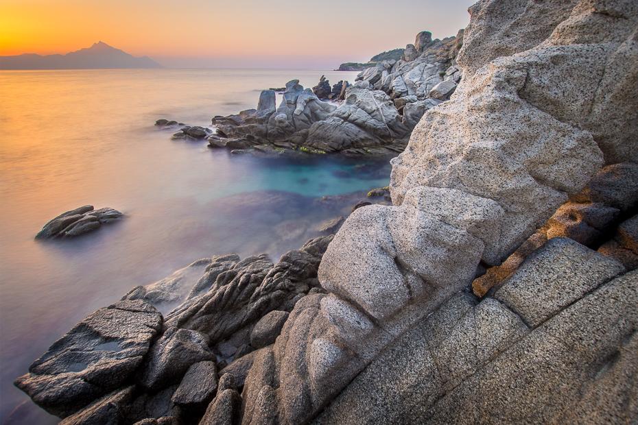 Góra Athos 0 Grecja Nikon D7200 Sigma 10-20mm f/3.5 HSM morze skała Wybrzeże cypel niebo Klif teren woda