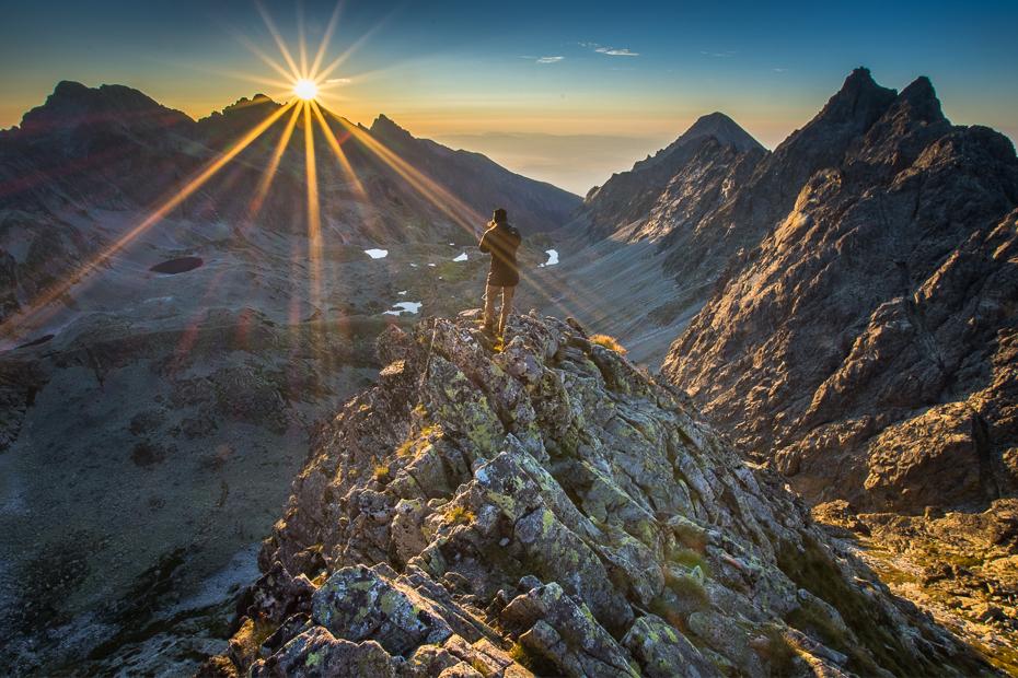 Tatry Nikon D7200 Sigma 10-20mm f/3.5 HSM Góra górzyste formy terenu niebo grzbiet pustynia pasmo górskie skała atmosfera ranek spadł