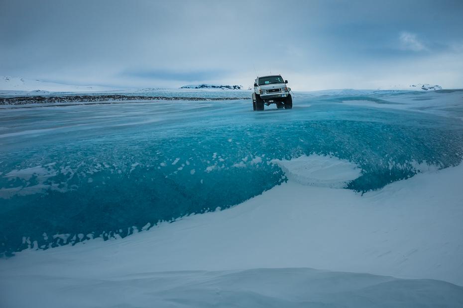 Lodowiec 0 Islandia Nikon Nikkor 24-70mm f/4 niebo zimowy niebieski śnieg zamrażanie lód arktyczny pojazd ocean krajobraz