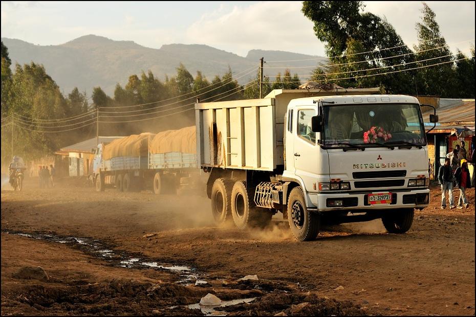 Kurz Nikon D300 AF-S Micro Nikkor 60mm f/2.8G Etiopia 0 pojazd transport pojazd silnikowy samochód ciężarówka rodzaj transportu Droga poza trasami pojazd użytkowy drzewo
