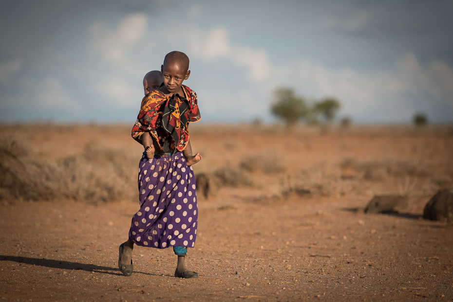 Masajskie dzieci