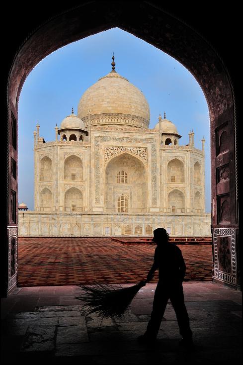 Taj Mahal Architektura Nikon D300 AF-S Zoom-Nikkor 17-55mm f/2.8G IF-ED Indie 0 łuk niebo historyczna Strona punkt orientacyjny kopuła Historia starożytna budynek Ściana historia architektura