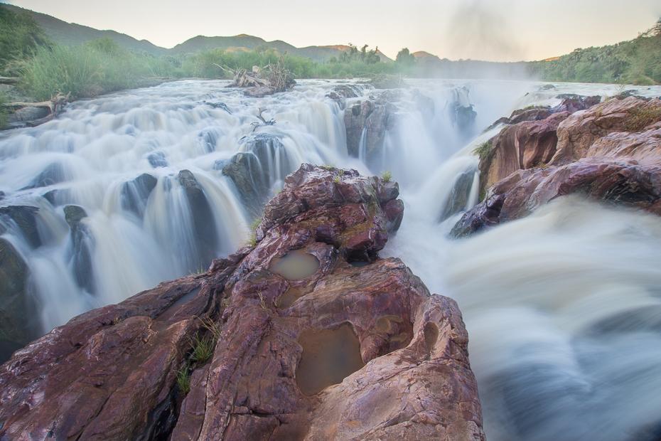 Epupa Falls Krajobraz Nikon D7200 Sigma 10-20mm f/3.5 HSM Namibia 0 wodospad woda Natura zbiornik wodny funkcja wody rzeka skała krajobraz strumień Góra