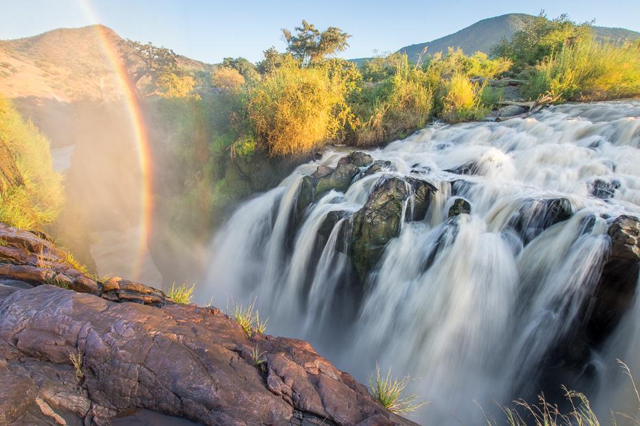 Epupa Falls Krajobraz Nikon D7200 Sigma 10-20mm f/3.5 HSM Namibia 0 wodospad woda Natura zbiornik wodny rezerwat przyrody pustynia rzeka funkcja wody strumień drzewo