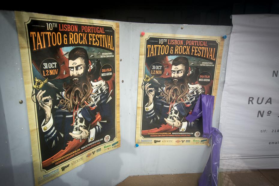 Tattoo Rock Festival Lizbona Nikon D7200 Sigma 10-20mm f/3.5 HSM Portugalia 0 plakat reklama sztuka kolekcja rekreacja