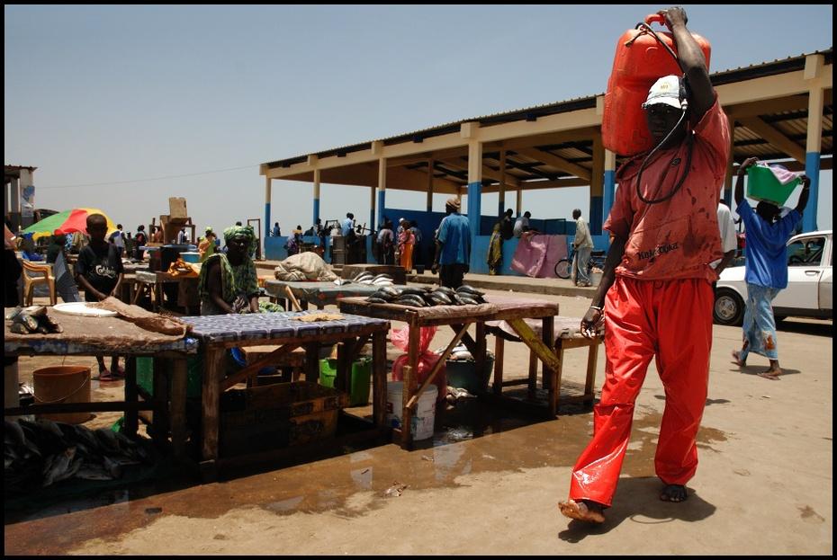 Targ rybny Klimaty Nikon D200 AF-S Zoom-Nikkor 18-70mm f/3.5-4.5G IF-ED Senegal 0 samochód pojazd rekreacja zimowy
