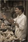 Sprzedawca bananów