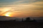 Zachód słońca w Hiszpanii