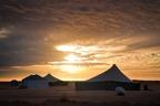 Zabudowania w Mauretanii