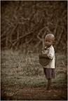 Masajskie dziecko