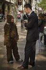Rozmowa z artystą ulicznym