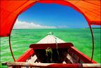 Zanzibar z łodzi