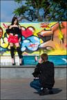 Fotograf i modelka|escape