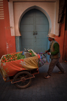 Sprzedawca pomarańczy