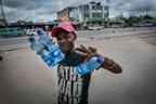 Sprzedawca wody