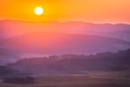 Wschód słońca na Szczelińcu