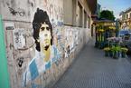 Maradona Mural